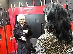 Lesbo granny with hairy cunt wants to get... lesbian porn tube