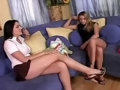 Perfect titty lesbians going horny pussy lesbian porn