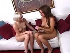 Lesbians with perky tits making sex pussy lesbian porn