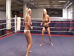 Naked busty boxer lady fucks her enemy... lesbian porn tube